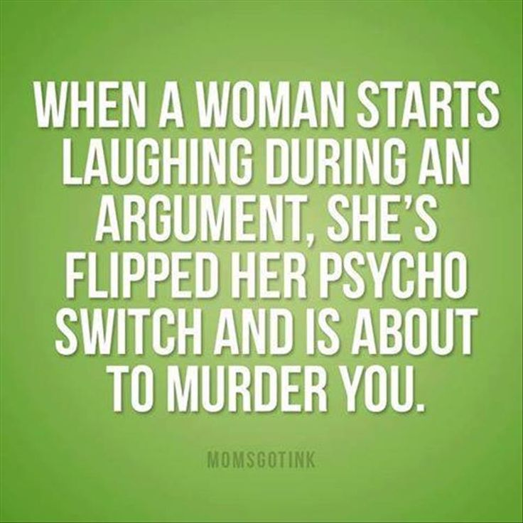 Not me>Lmao...I did this with my 5yr old. He was expecting me to yell but I did crazy laugh instead and he immediately stopped what he was doing and asked if I was under control and if he should call 911...lol.