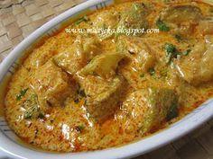 Bottle gourd curry from kashmir