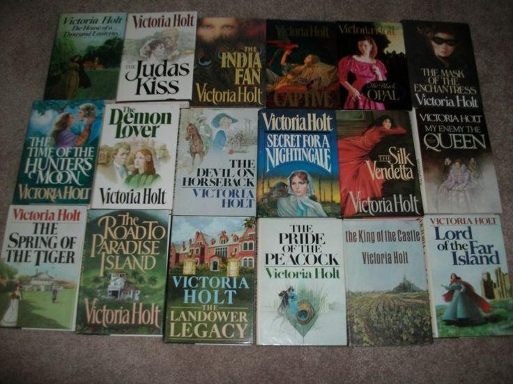 Lot of 18 Victoria Holt hardback books Judas Kiss Mask of the Enchantress