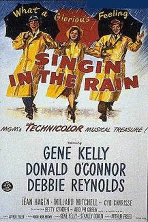 """If you didn't arrive early to get a seat for last night's NCM Fathom Events-Turner Classic Movies' showing of """"Singin' in the Rain,"""" you were one of the more than 100 people filling the very front row seats in the neck-craning-upward theater section, for the 60th anniversary showing of the film starring Gene Kelly, Donald O'Connor and Debbie Reynolds. It was exciting to see a sold-out theater with patrons ranging from 5-85 yrs streaming in to patronize quality family entertainment…"""