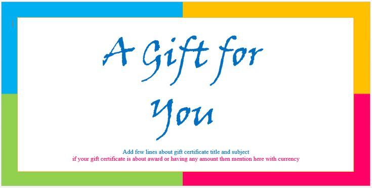 Create a Gift Certificate with These Free Microsoft Word Templates - gift certificate template in word