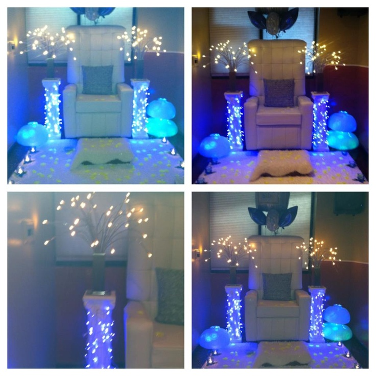 Baby shower chair rental by rich event decor