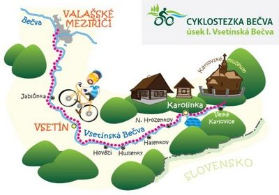 Velké Karlovice is a beautiful town which is largely undiscovered by tourists outside the Czech Republic. There are bike rental centres, fantastic cycling routes and many spa hotels.