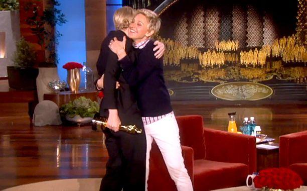 Ellen's post-Oscar talk show breaks records | EW.com
