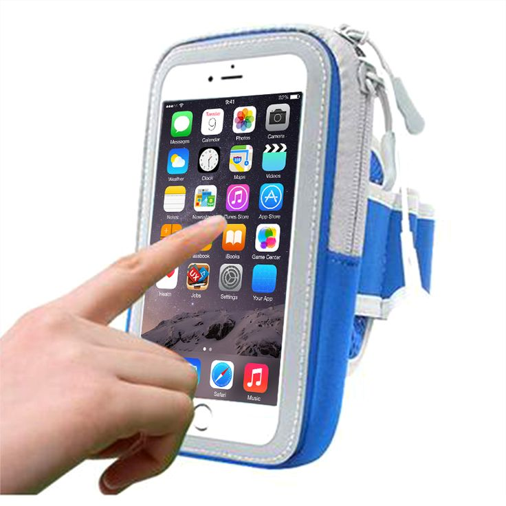 Sport Armband Pouch Bag Case Cover Full Arm Band Case for Iphone 7 6s plus 5s for Samsung S8 S7 edge Universal Fitness Case