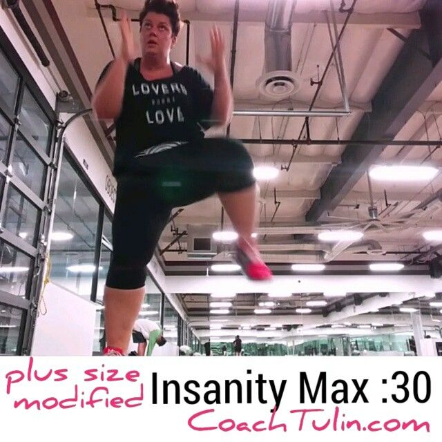 CLICK on IMAGE to play video! Example of how I modify Insanity Max :30 as a plus…