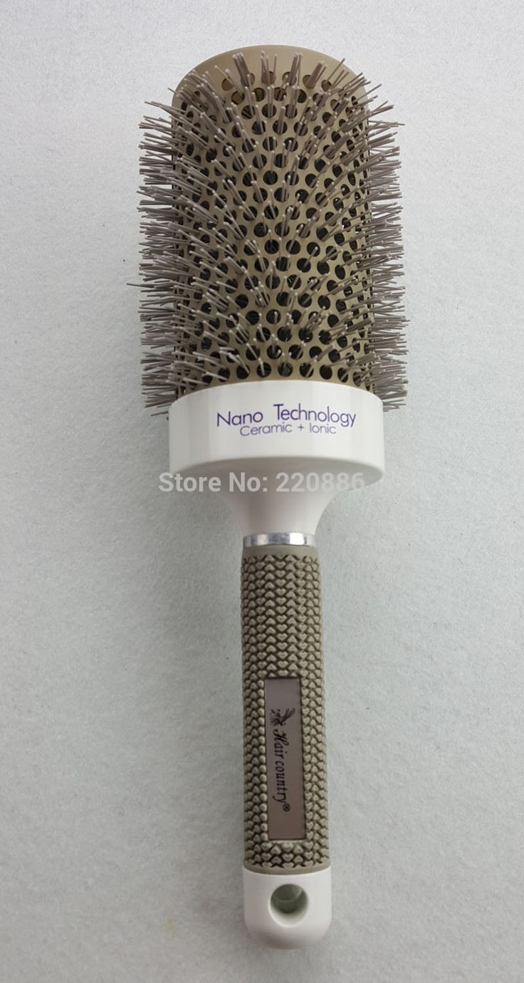 1 Piece Round Hair Brush Professional Ceramic Hair Brush Hairdressing Styling Brush GIC-HB504 (65MM) Free Shipping