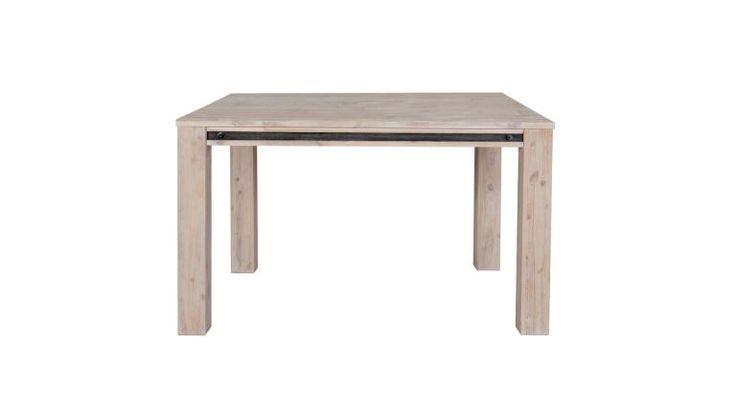 Les 25 Meilleures Id Es Concernant Table Carr E Avec: table carree bois massif avec rallonge