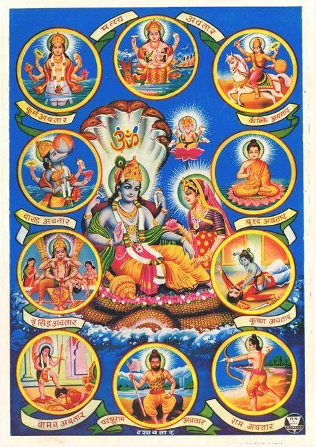The Ten Avatars of Vishnu: a Guide