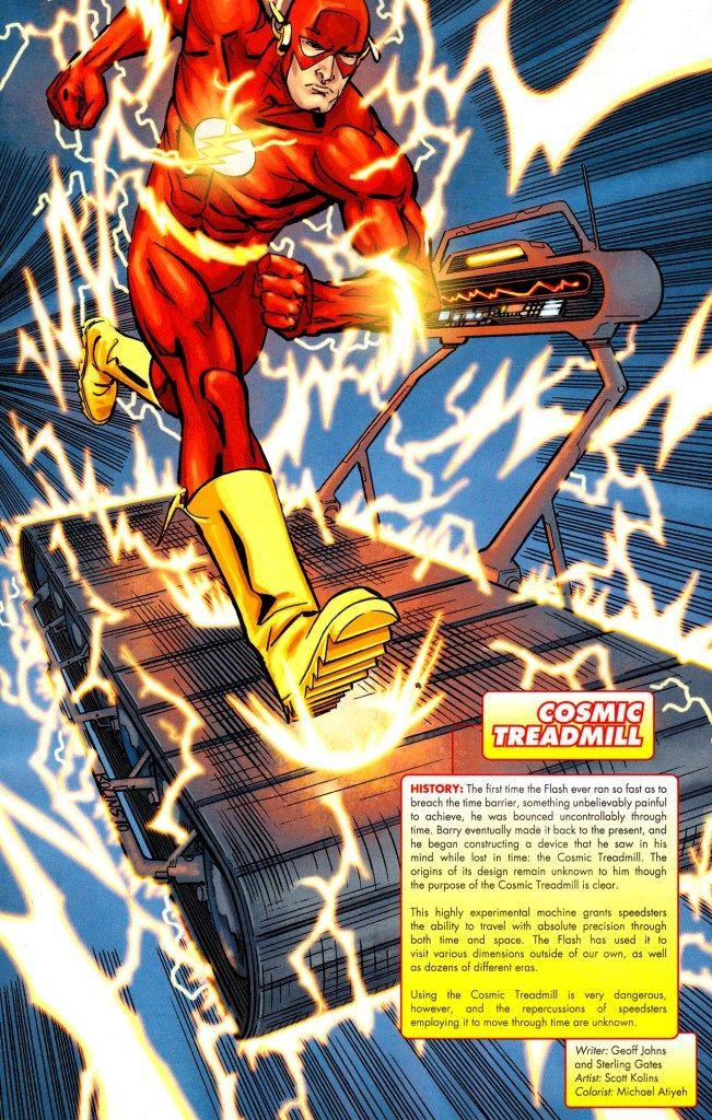 cosmic treadmill | Cosmic Treadmill - DC Comics Database