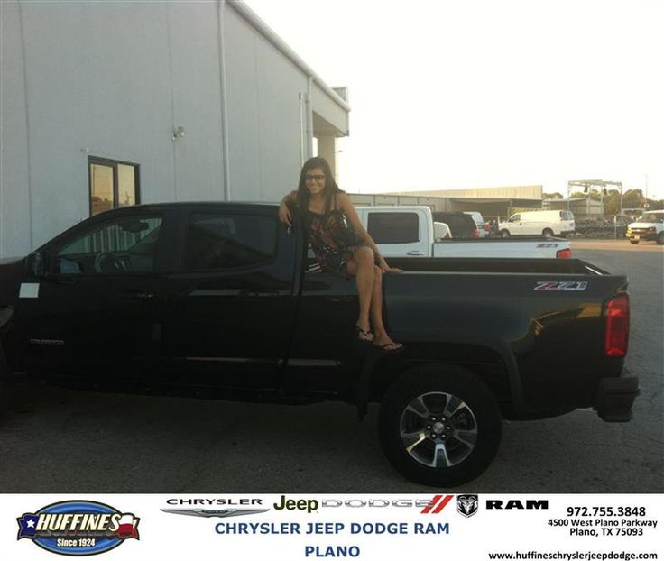 https://flic.kr/p/Ma1NLz | Congratulations Meagan on your #Chevrolet #Colorado from David Maynard at Huffines Chrysler Jeep Dodge RAM Plano | deliverymaxx.com/DealerReviews.aspx?DealerCode=PMMM