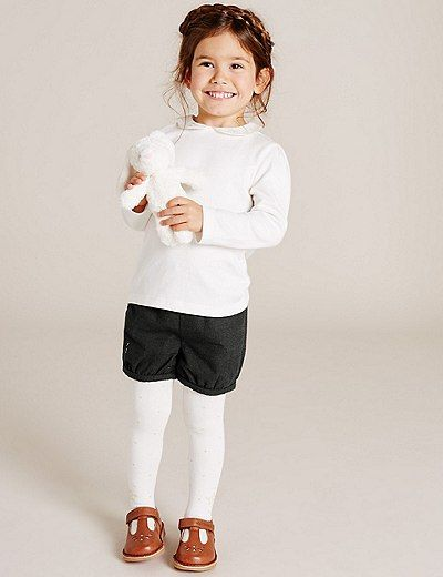 Wool Blend Shorts (3 Months - 5 Years) | Marks & Spencer London