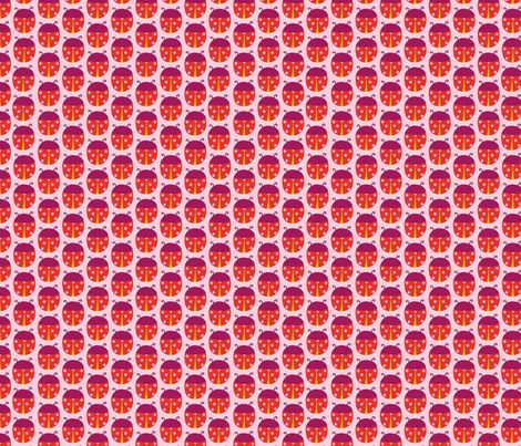 Ladybug  fabric by simply_colours on Spoonflower - custom fabric