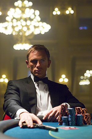 Daniel Craig. he is not at all sean connery , but there is something very captivating about this man.