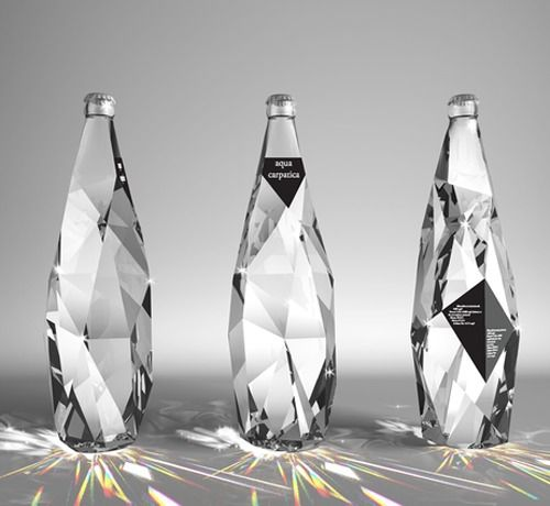 diamond water #design #packaging