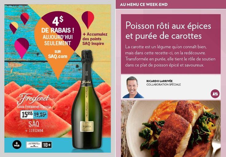 Poisson rôti aux épices et purée de carottes - La Presse+