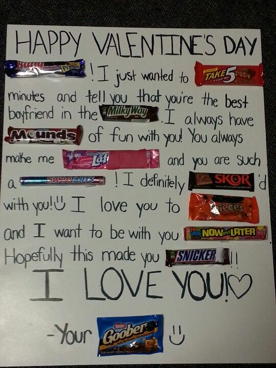 Best 25 Candy poster boyfriend ideas – Valentines Cards Words