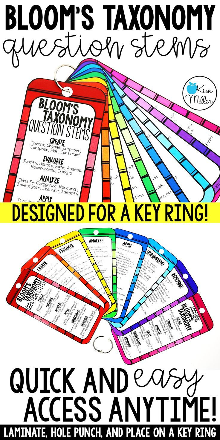 25+ best ideas about Blooms taxonomy questions on Pinterest ...