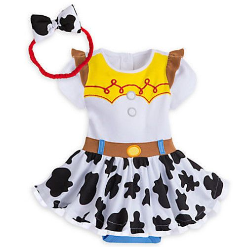 Disney Store Baby Jessie Toy Store Costume Outfit & Headband 12-18 months NWT #DisneyStore