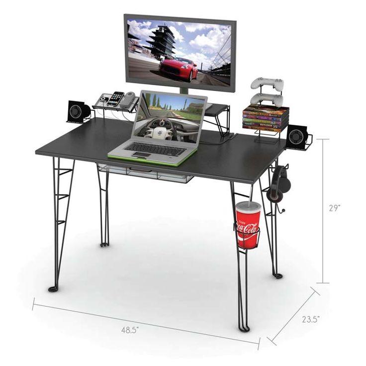 32 Best Gaming Desk Images On Pinterest Computer Desks