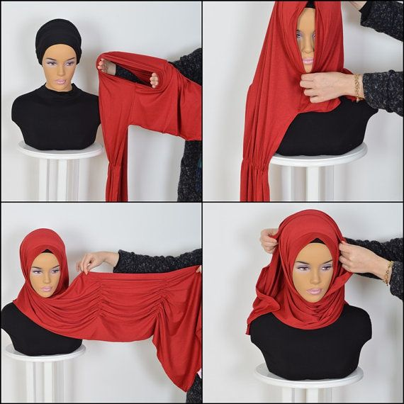 Cotton Express Hijab Code: PS-0014 Muslim Women by HAZIRTURBAN