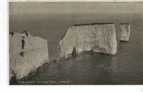 Judges Postcard, Swanage, Old Harry Rocks, 1555B
