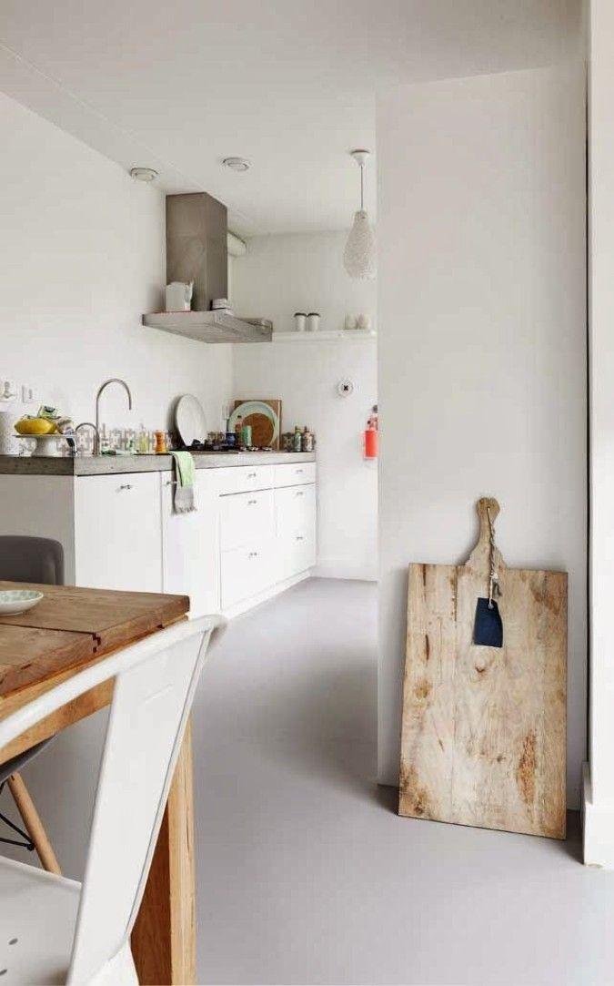 Keuken _ Wit _ Hout