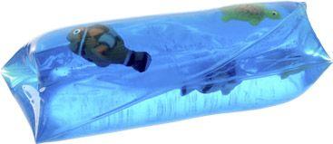 Voelzakjes met vissen. 99 cent bij Intertoys. http://www.intertoys.nl/speelgoed/gladjanus-vis-565294.html
