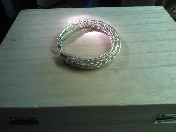 Hopeinen viikinkiketju / Viking chain