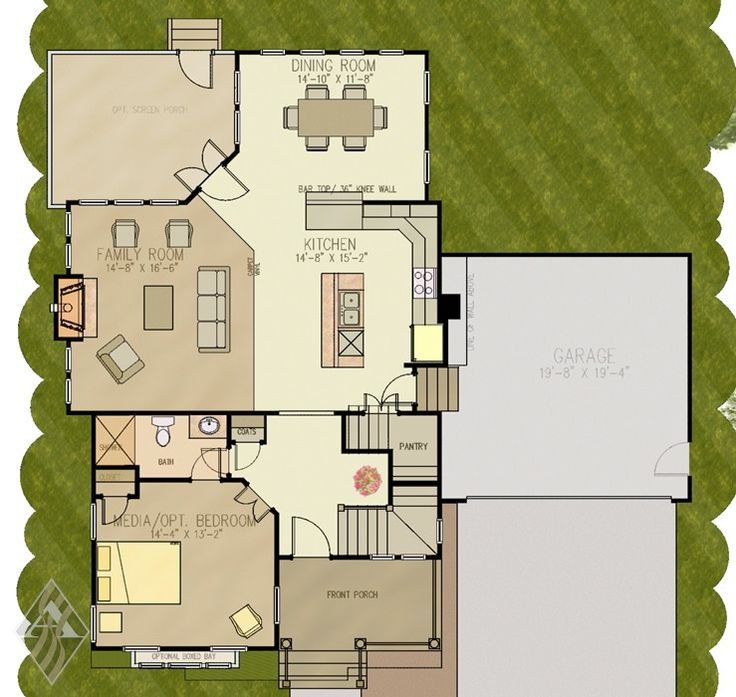 1000+ Images About Empty Nester House Plan Ideas On Pinterest