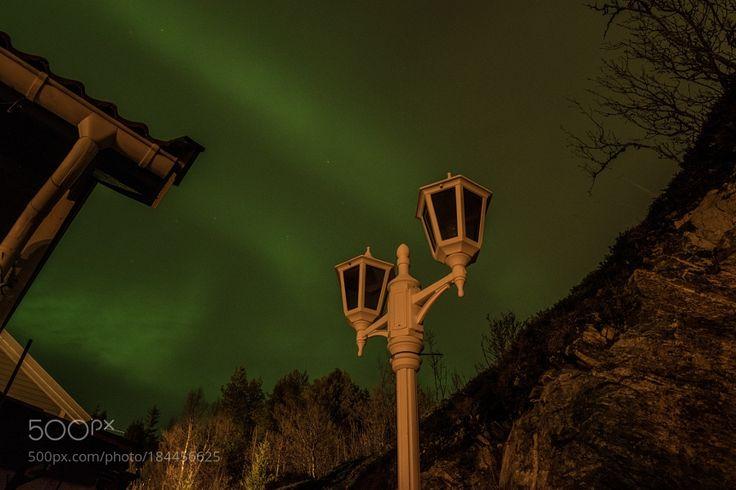 Northern light by SveinBrreMathisen