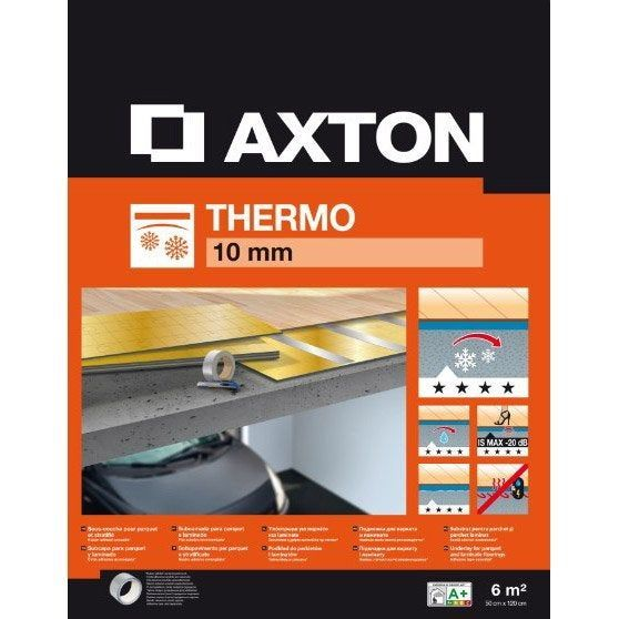 Sous Couche Parquet Et Sol Stratifie Thermo Ep 10 Mm Axton 6 M In 2020 Parquet 10 Things Home Remodeling