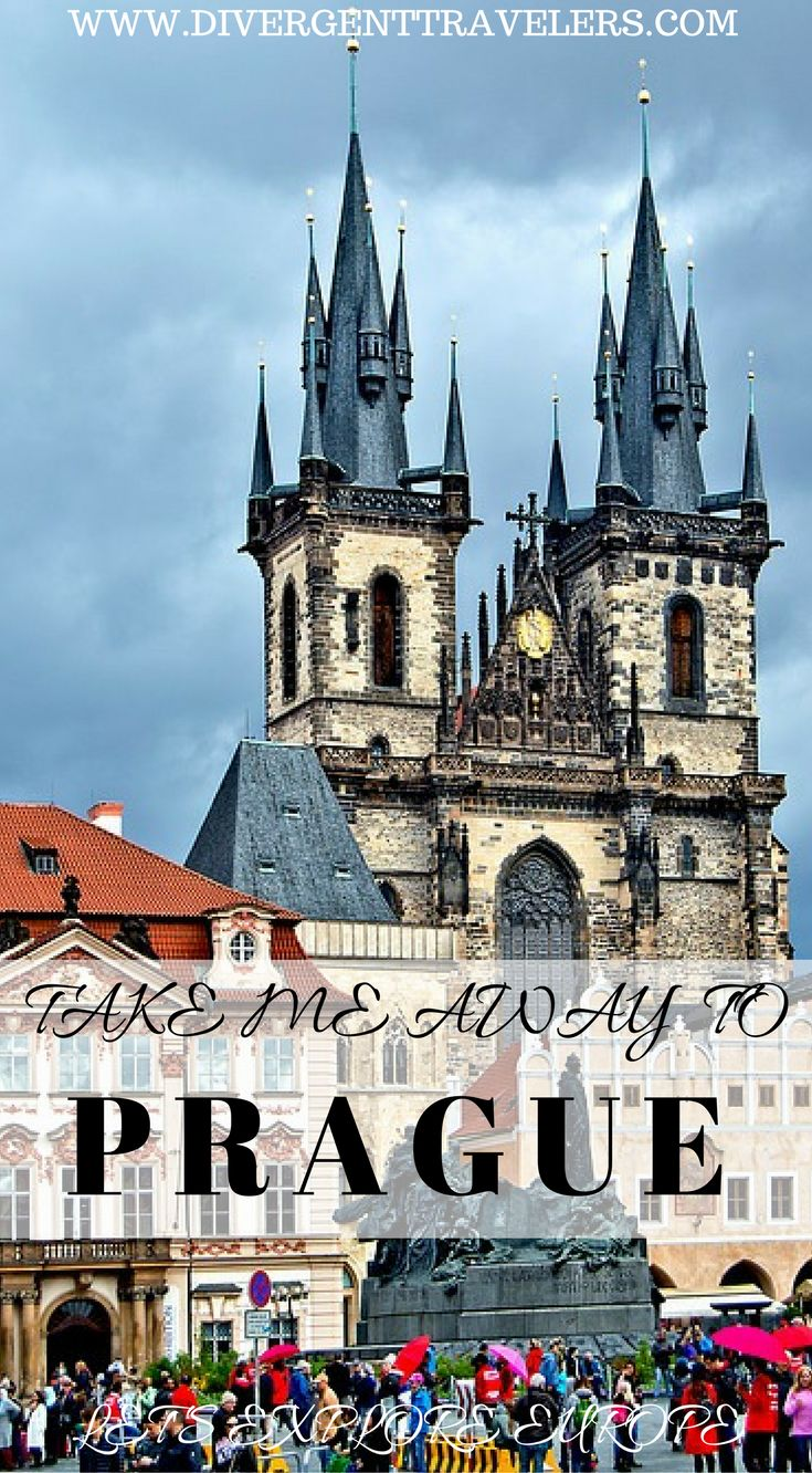 Please take me away to Prague! Even if it's a day, two days or even 3 days. Our 3 day Prague itinerary is really the right amount of time. Although you could spend twice as long here, most people tend to visit for a long weekend. So here is how to get the best our of your 3 days in Prague. Click to read our 3 Days in Prague – Things to do in Prague travel guide at https://www.divergenttravelers.com/things-to-do-in-prague/ #Prague #Travel #Guide