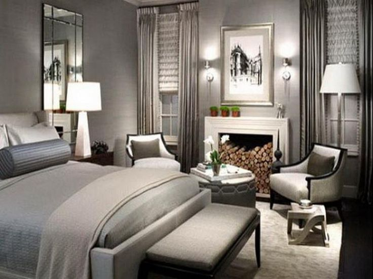 Amazing Elegant Gray Bedroom Decorating Ideas Pinterest