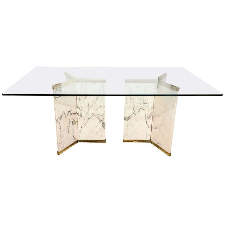 Marble Top Coffee Table Craigslist: 282 Best Glass Dining Table Images On Pinterest