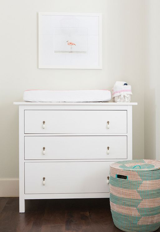 nursery with ikea hemnes 3 drawer chest nursery