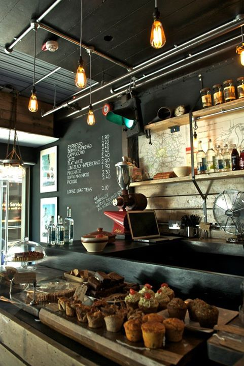 Espresso Bar Mozzino | London  Love Coffee - Makes Me Happy  Simple menu and display. Needs to be sleeker.