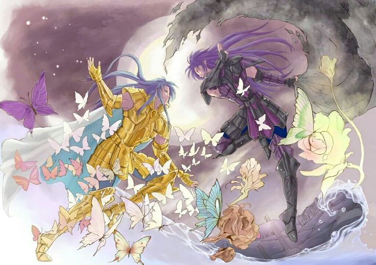Saint seiya Saga and Kanon