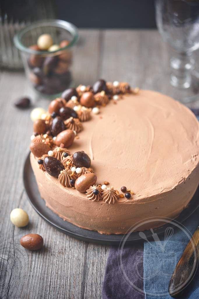 Gâteau Passion chocolat de Pâques - Amuses bouche