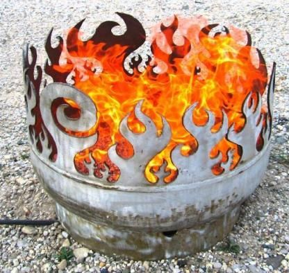 john t unger portable fire pits Artistic Firepit by John T. Unger   Recycled…
