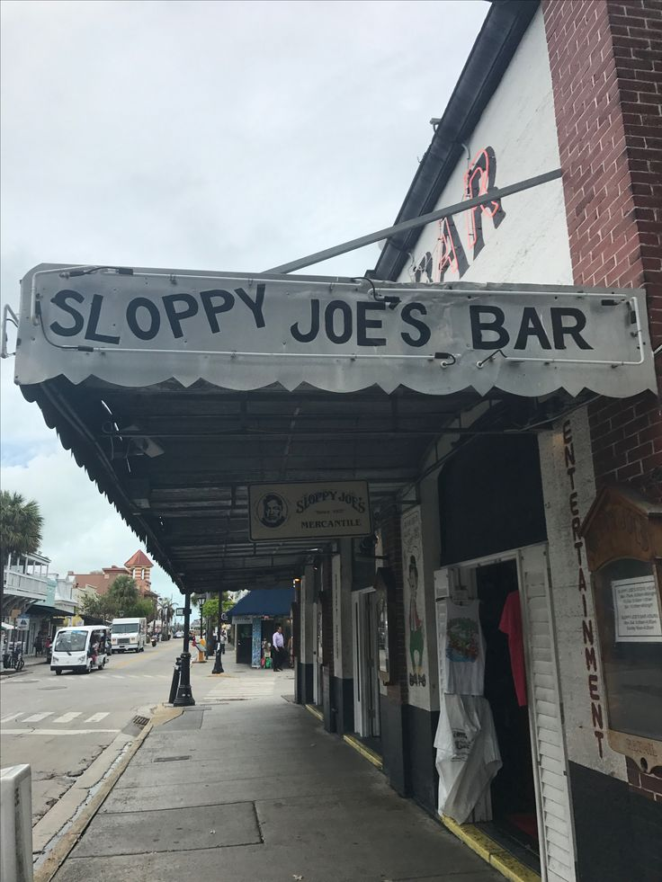 Sloppy Joes Bar Good times, great live music