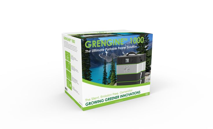 Meet the GRENGINE™, the evolution in portable power.