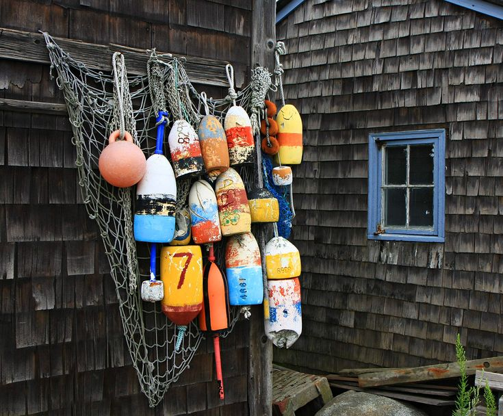 Buoys. Don Davis | Buoys | Pinterest | Lobster trap