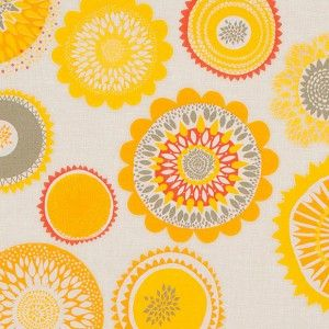 Spira Siri Yellow Fabric -HUS & HEM- Scandinavian Design For The House And Home