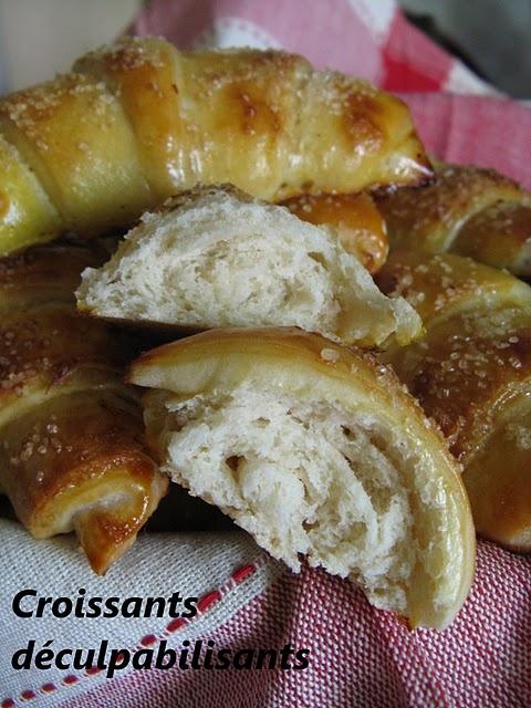 Les Croissants déculpabilisants Eryniens (sans beurre)