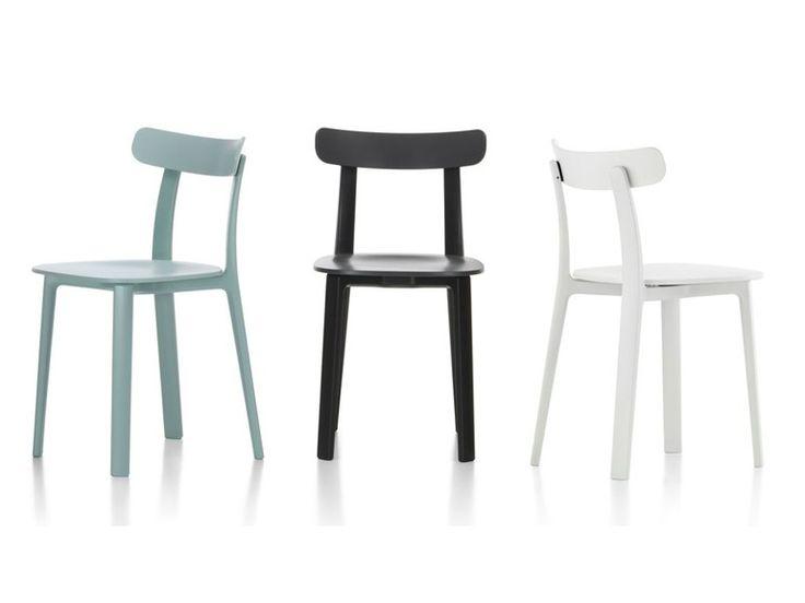 Acquista on-line All plastic chair by Vitra, sedia in polipropilene design Jasper Morrison