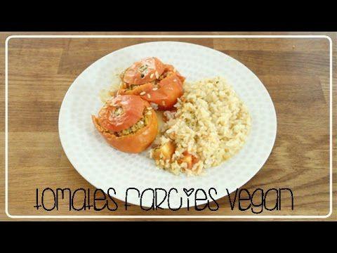 Mes Tomates Farcies   Recettes Vegan