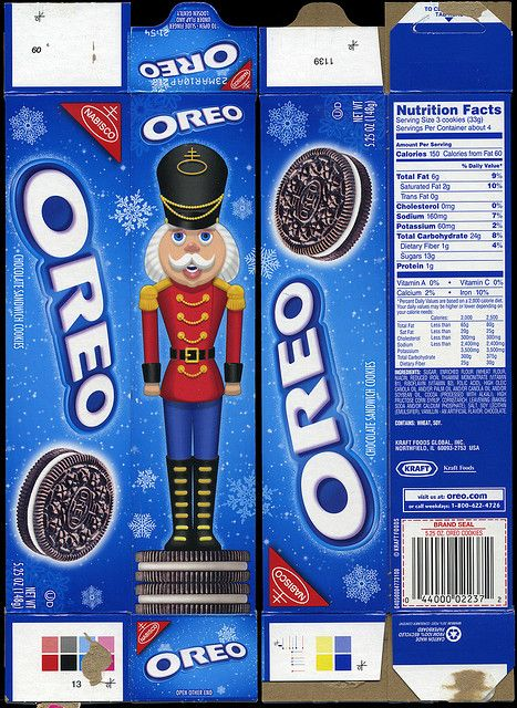 Nabisco Cookies From the Past boxes | Nabisco - Oreo cookie - 5.25 ounce holiday box - 2009 | Flickr - Photo ...