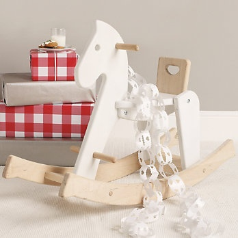 Wooden Rocking Horse from Bajo Toymakers | The White Company