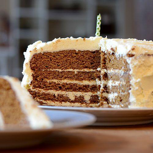 Gingerbread Latte Layer Cake